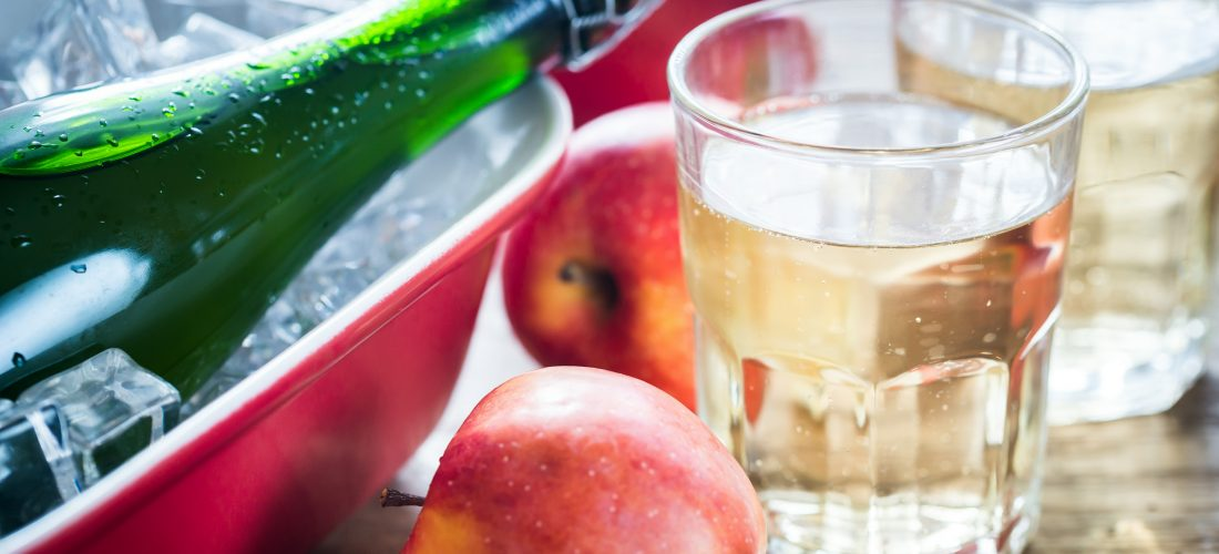 Cold sterilization for beer-based beverages and cider