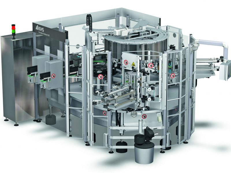 KHS Innoket Roland 40: compact labeling machine for the beverage and food industries