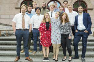 New graduates at Scandinavian School Of Brewing