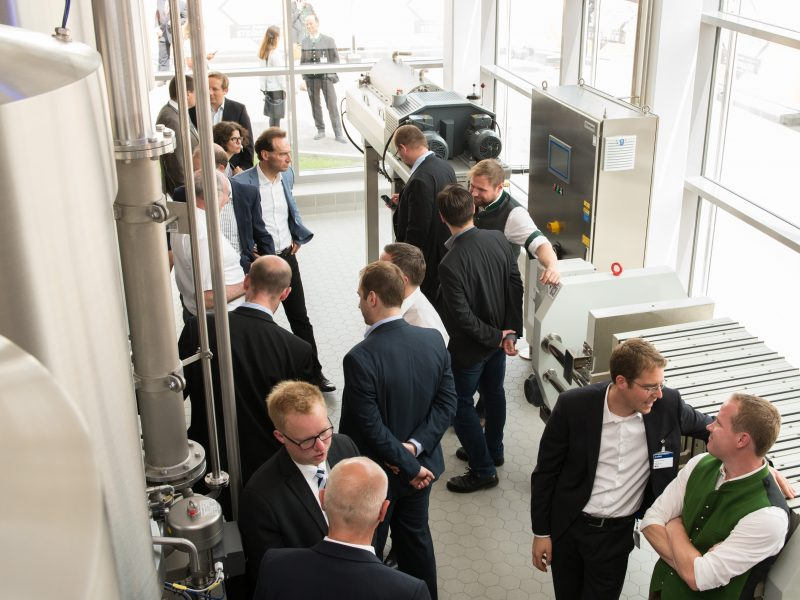 Steinecker Brew Center: The world's most sophisticated research brewery has been inaugurated